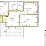 Σχέδιο κάτοψης ηλεκτρολογικής εγκατάστασης